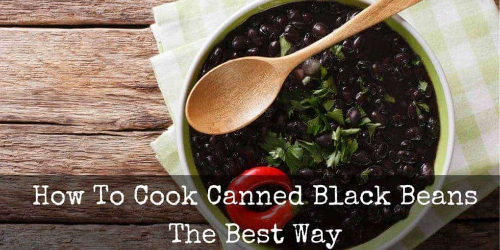 How To Cook Canned Black Beans Featured Image 1020x510