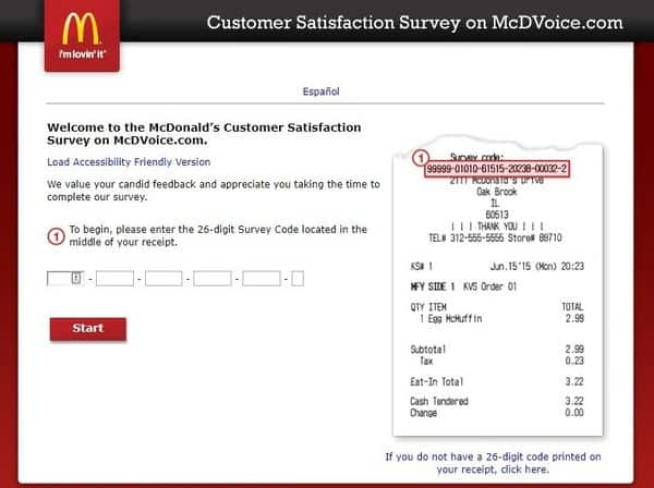 mcdvoice survey mcdonald s customer satisfaction survey merchdope