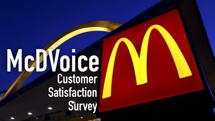 McDVoice Survey – McDonald's Customer Satisfaction Survey - MerchDope