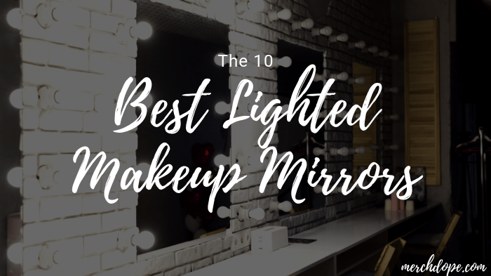 The 10 Best Lighted Makeup Mirrors In 2019 Merchdope