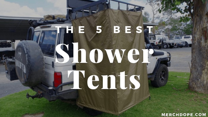 competitive price 27c1a 35b88 The 5 Best Shower Tents of 2019 - MerchDope