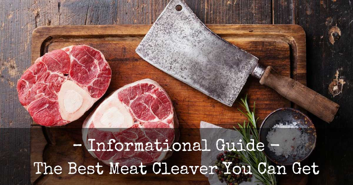 Best Meat Cleaver Reviews