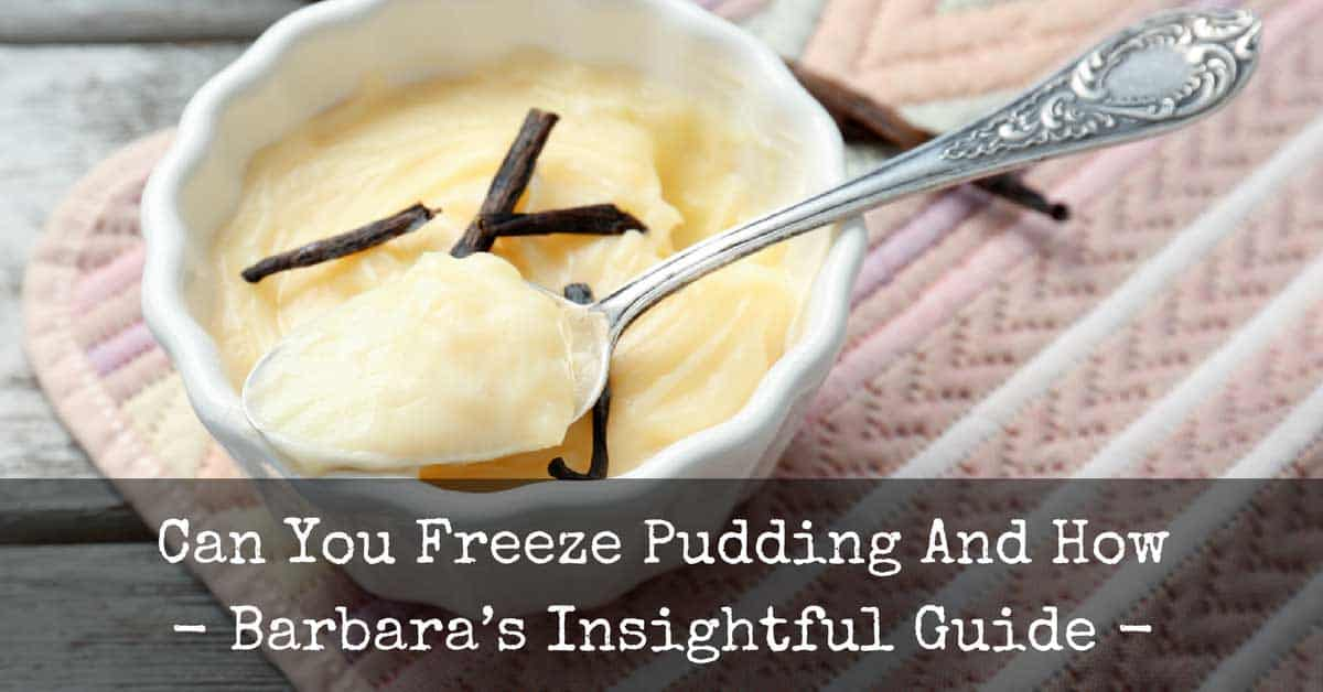 Can You Freeze Pudding