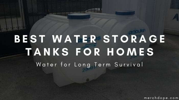 Water Storage Tanks For Homes