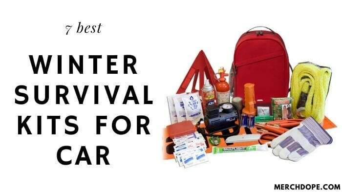 Winter Survival Kit For Car