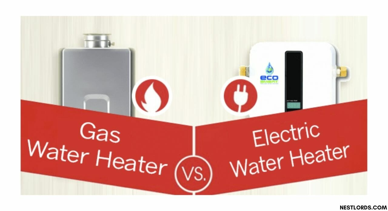 gas vs electric tankless water heater