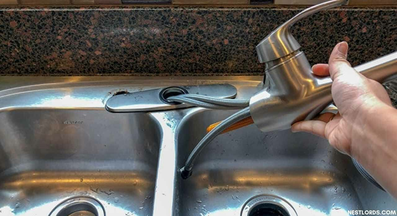 how to replace a kitchen faucet 1 1