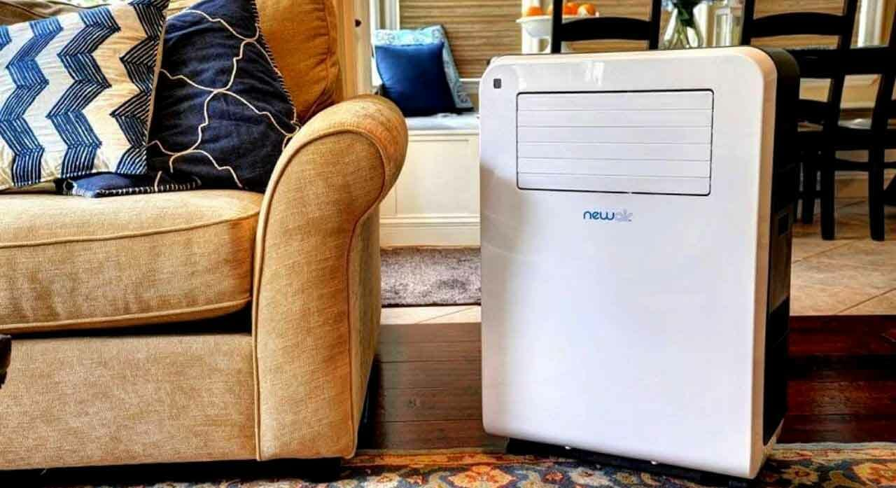 portable air conditioners with heaters
