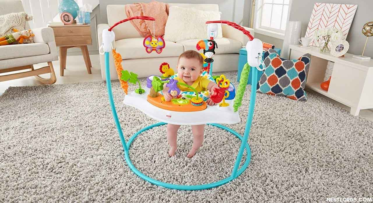when can baby go in exersaucer