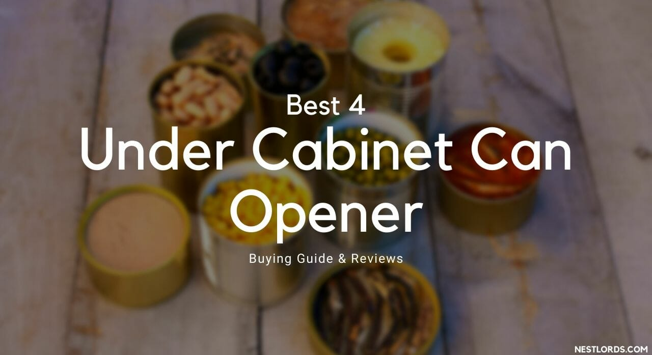 under cabinet can opener