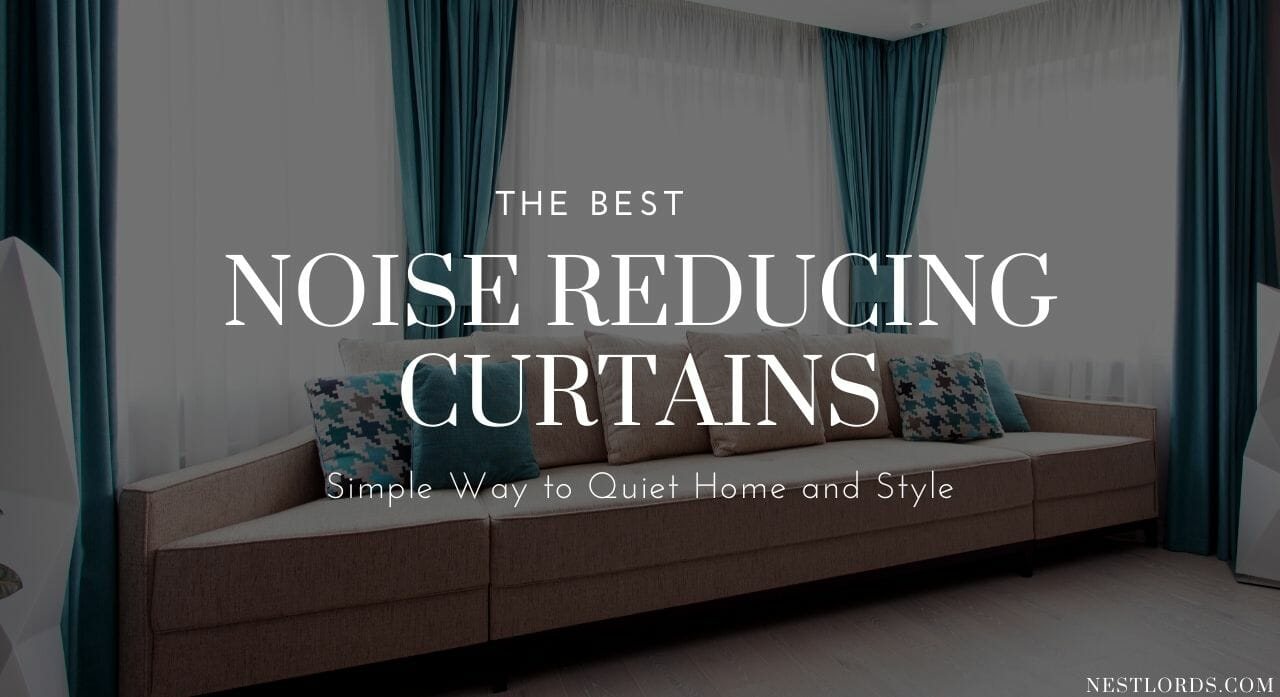 best noise reducing curtains 1