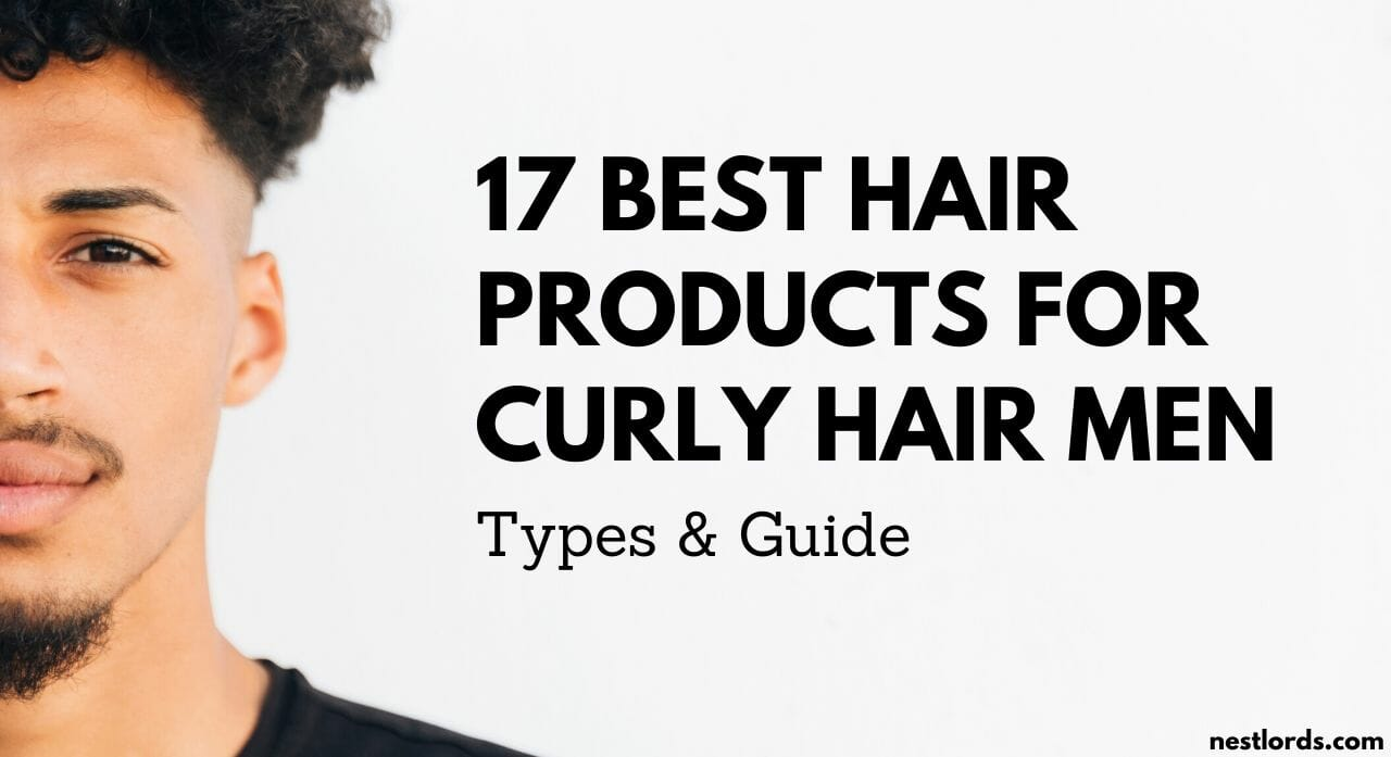 best hair products for curly hair men