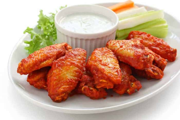 how to cook frozen chicken wings buffalo
