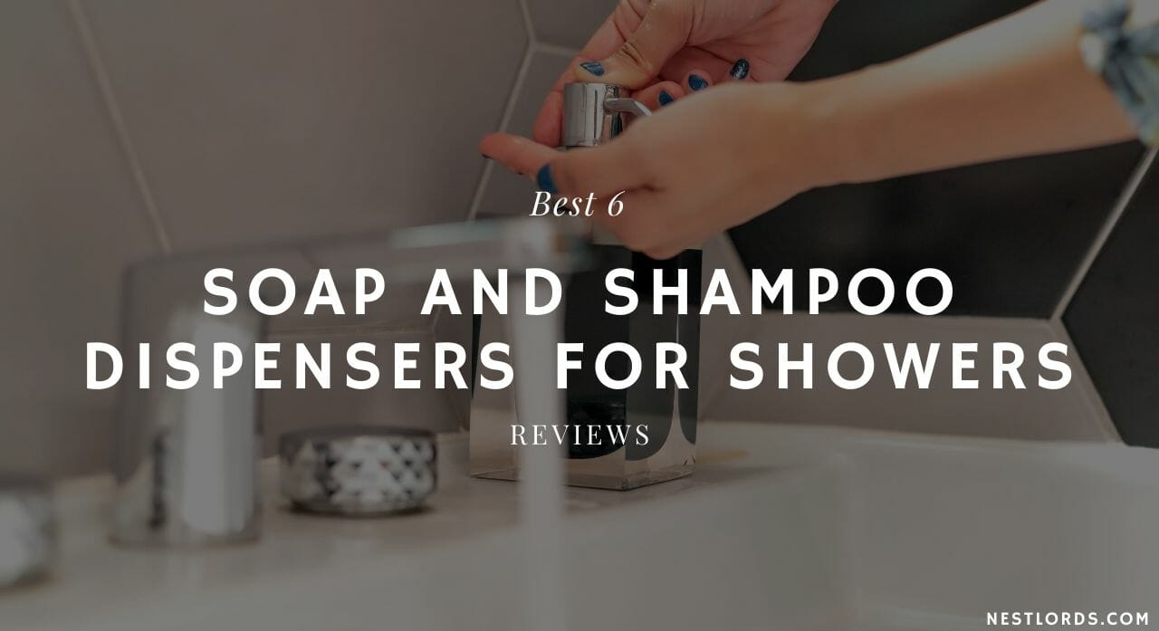 soap and shampoo dispensers for showers