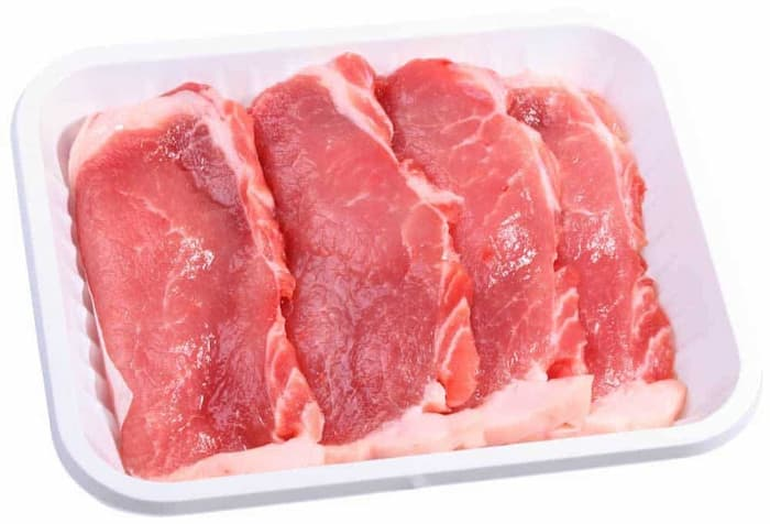 smell the meat to tell if pork is bad