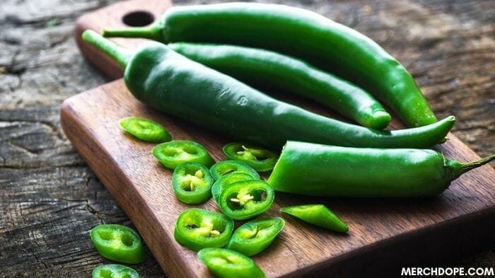substitute for green chilies