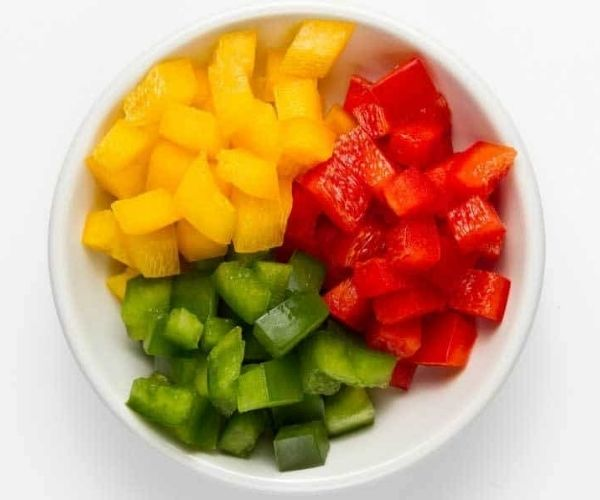 sliced-red-yellow-green-bell-peppers
